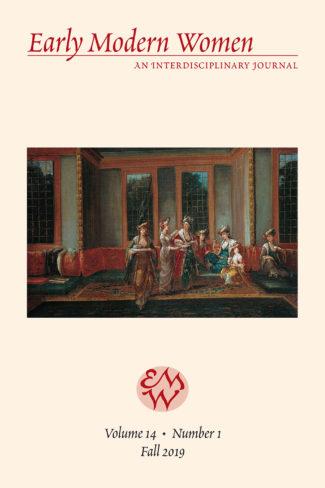 Early Modern Women: An Interdisciplinary Journal