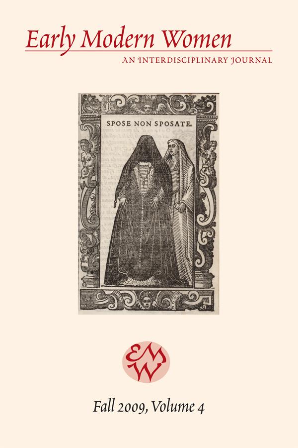 Early Modern Women Journal v4