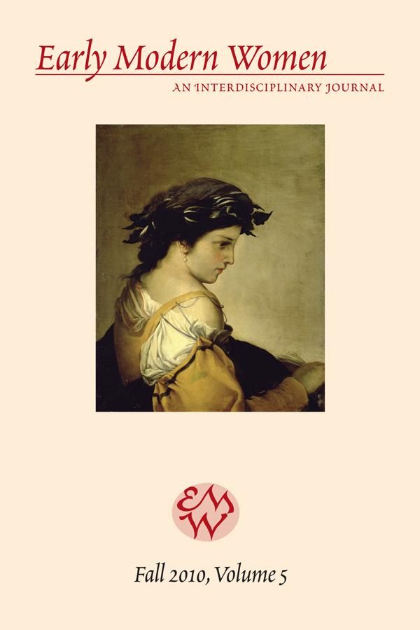 Early Modern Women Journal v5