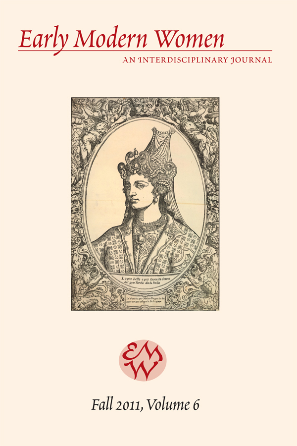 Early Modern Women Journal v6
