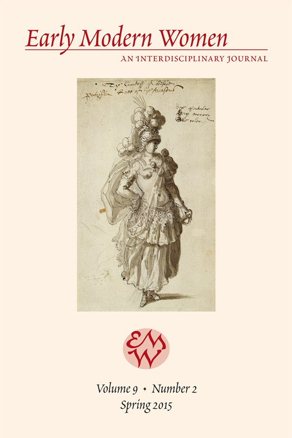 Early Modern Women Journal v9.2