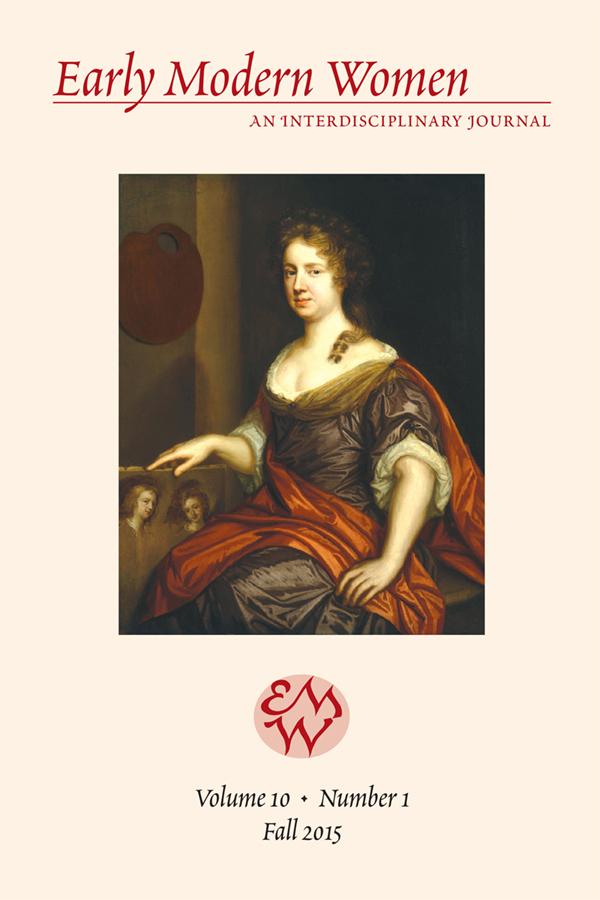 Early Modern Women Journal v10.1