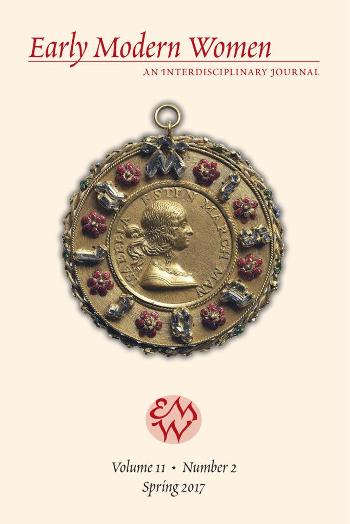 Early Modern Women Journal v11.2
