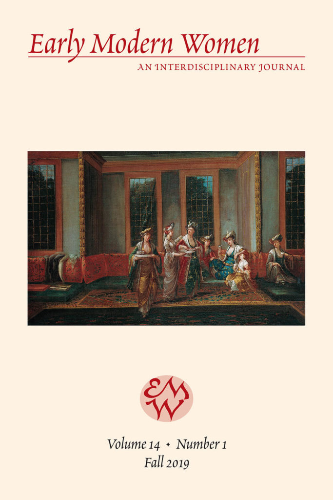 Early Modern Women Journal Volume 14.1