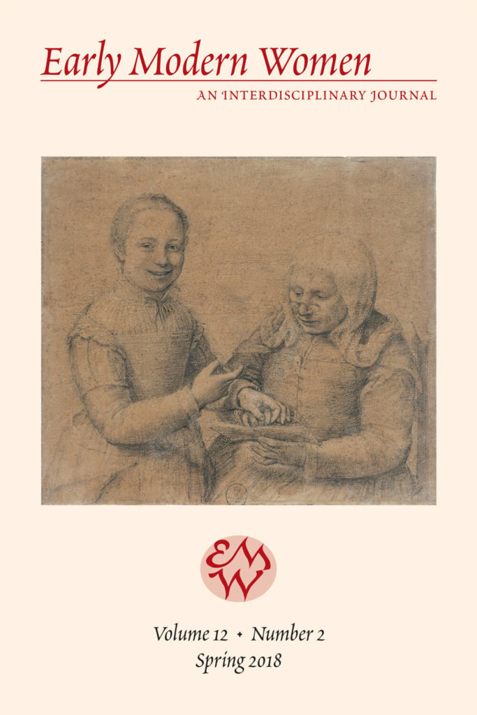 Early Modern Women Journal Volume 12.2