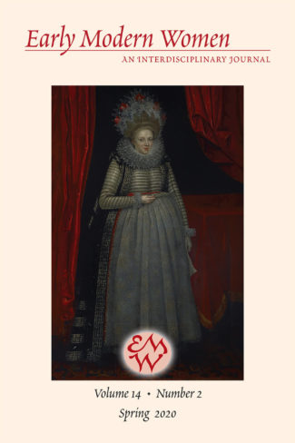 Early Modern Women Journal v14.2