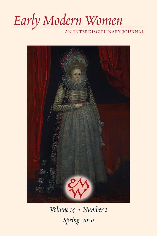 Early Modern Women Journal Volume 14.1