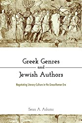 "Interview: Adams on ""Greek Genres and Jewish Authors"""