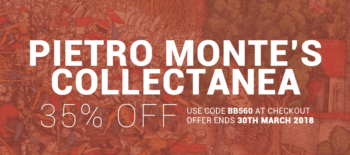 Pietro Monte's Collectanea Extracts and Special Offer
