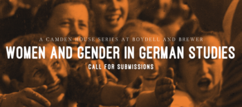 Call for Papers: Women and Gender in German Studies