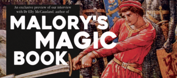 An exclusive preview of our interview with Dr Elly McCausland, author of Malory's Magic Book