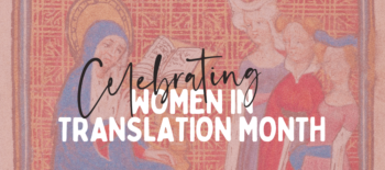 Celebrating Women in Translation Month