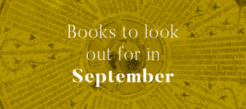 Books to look out for in September 2019