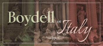 On the track of Boydell Authors in Italy