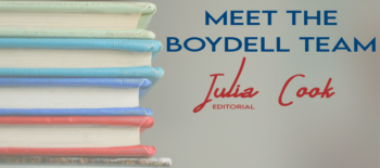 Meet the Boydell Team: Julia Cook