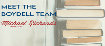 Meet the Boydell Team: Michael Richards