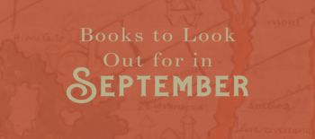 Books to Look Out for in September 2020