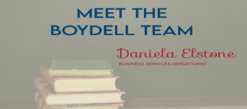 Meet the Boydell Team: Daniela Elstone
