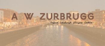 An Interview with A W Zurbrugg our rep in Oxford, Edinburgh, Glasgow and Dublin