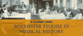 The View from a Series Editor: Introducing Christopher Crenner, Medical History