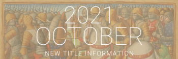 October 2021 New Titles