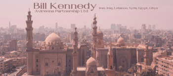 An Interview with Bill Kennedy, our rep in the Gulf countries, Iran, Iraq, Lebanon, Syria, Egypt and Libya