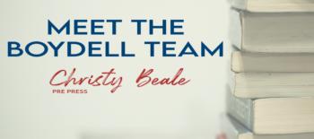 Meet the Boydell Team: Christy Beale