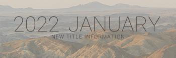 January 2022 New Titles