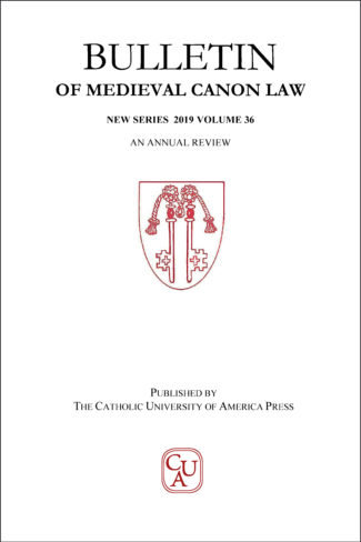 Bulletin of Medieval Canon Law