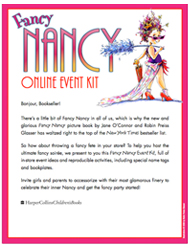 Host the ultimate fancy soirée. Fancy Nancy