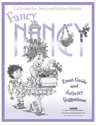 Let's make fun, fancy, and fabulous fashion! Fancy Nancy and the Fabulous Fashion Boutique