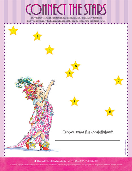 Connect the Constellation – Printable Game