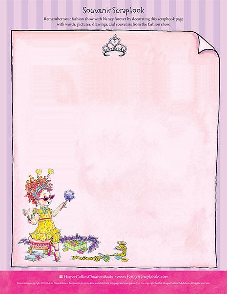 Souvenir Scrapbook – Printable Craft Activity