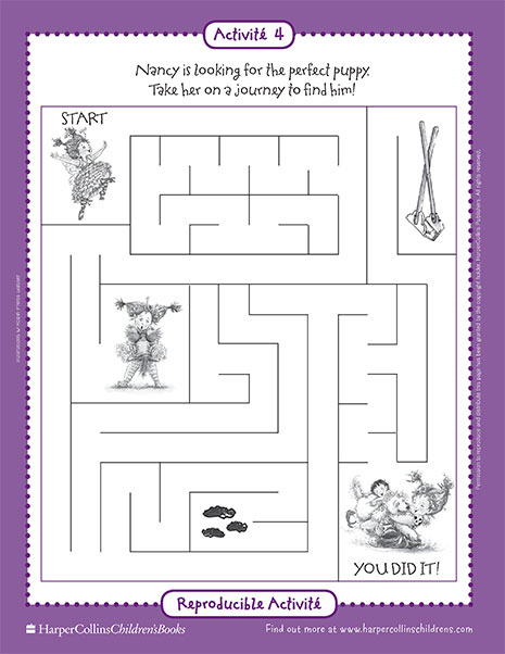 The Perfect Puppy – Printable Game