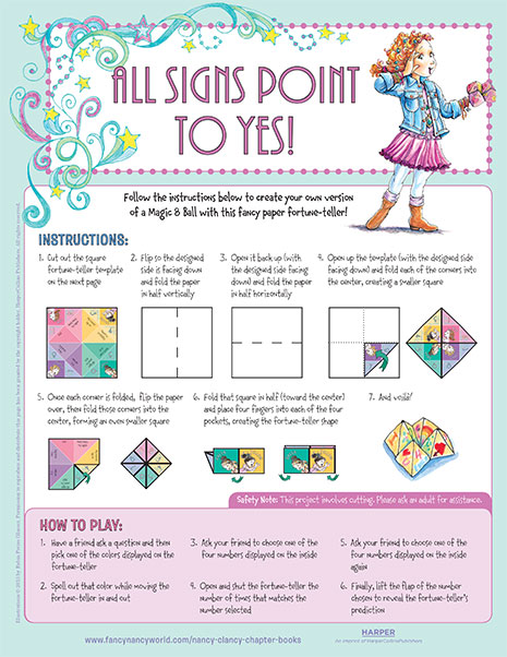 All Signs Point to Yes – Printable Craft Activity