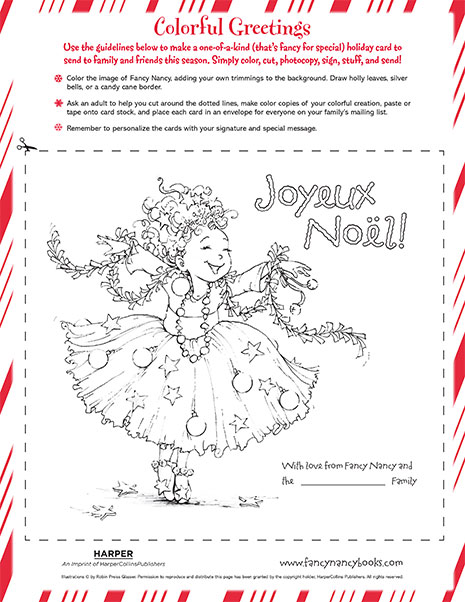 colorful greetings printable coloring sheet