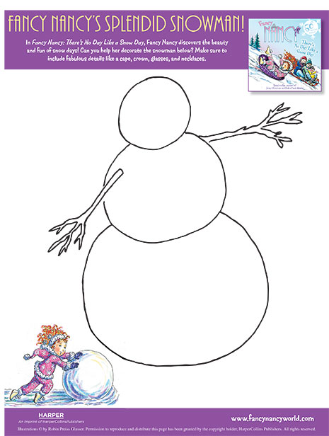 photograph about Snowman Printable known as Splendid Snowman Printable Craft Game Extravagant Nancy