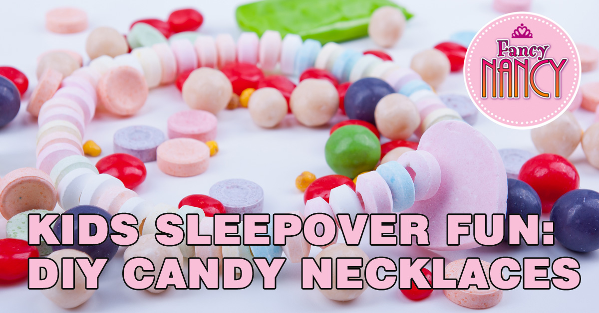 Kids Sleepover Fun: DIY Candy Necklaces