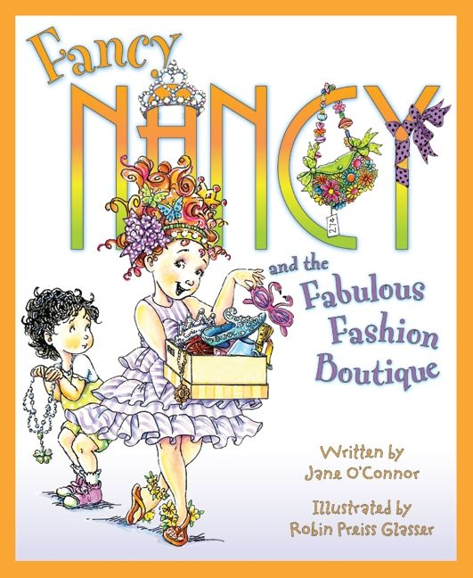 Fancy Nancy and the Fabulous Fashion Boutique Jacket
