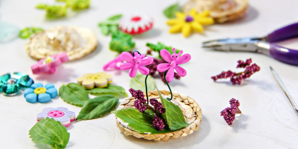 How to make a fairy garden: step #3