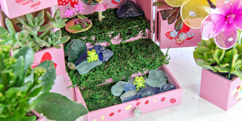 How to make a fairy garden: step #4