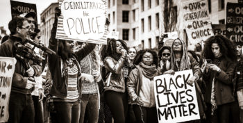 Taking power from police and putting it into communities
