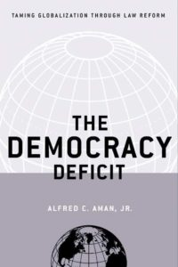 The Democracy Deficit