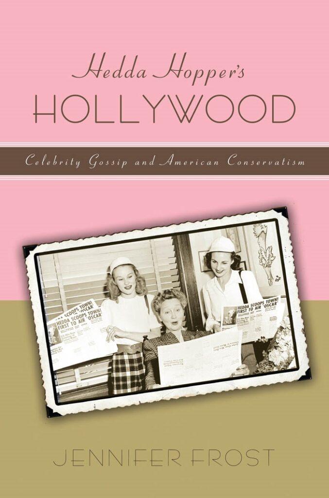 Book cover, Hedda Harper's Hollywood