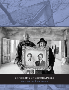 Cover of UGA Press Fall 2020 catalog