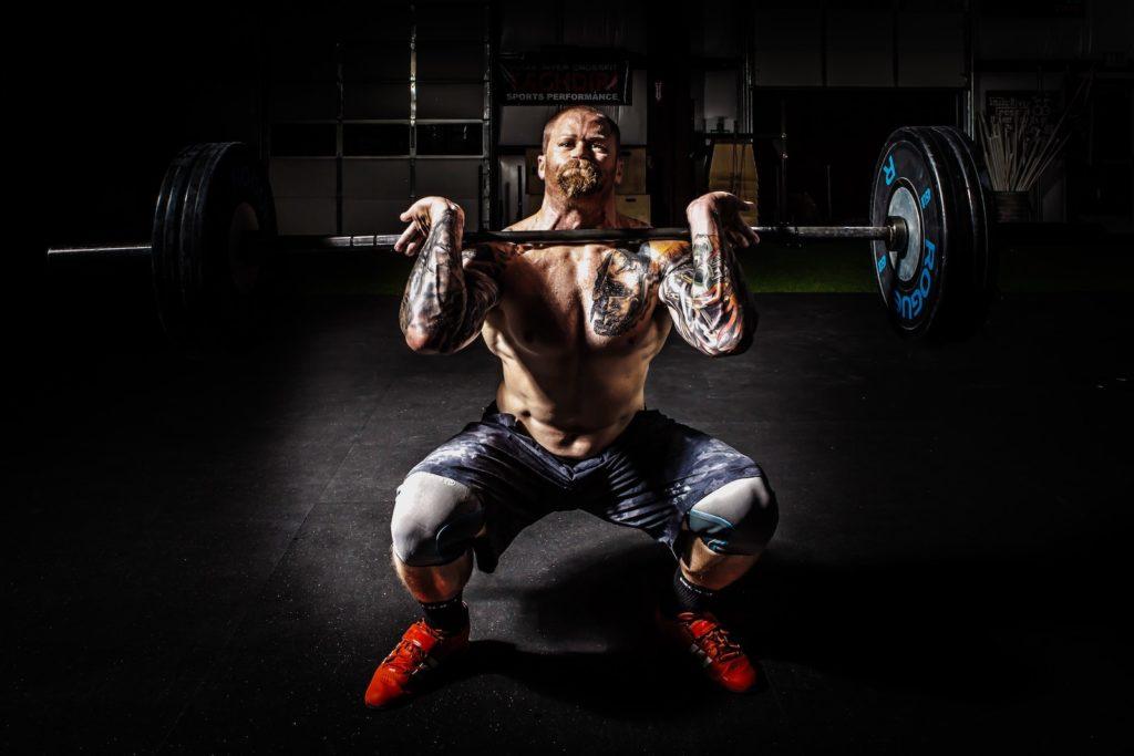 powerlifting man