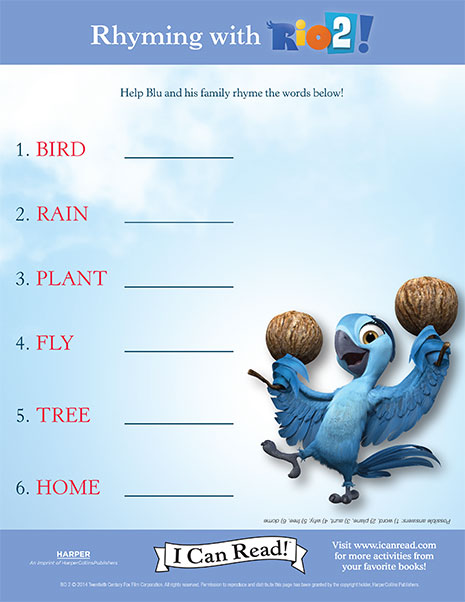 Rhyming with Rio 2