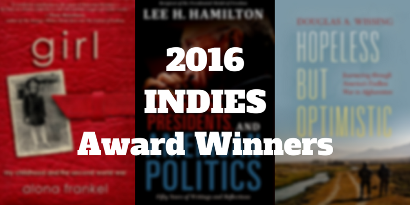 2016 INDIES Award Winners