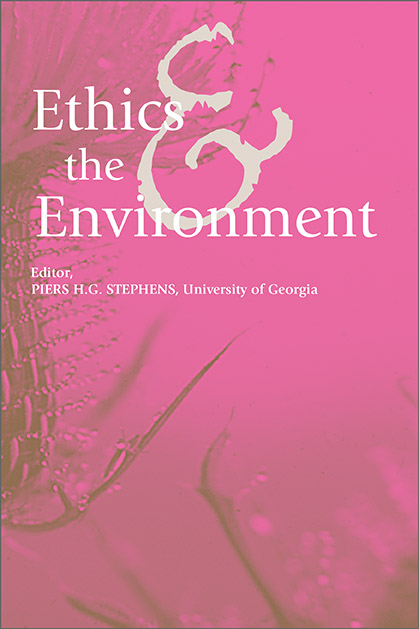 Ethics & the Environment cover image