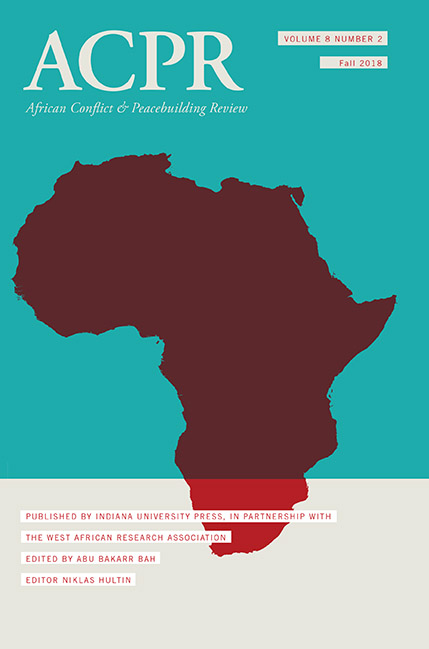 Africa cpr Cover image